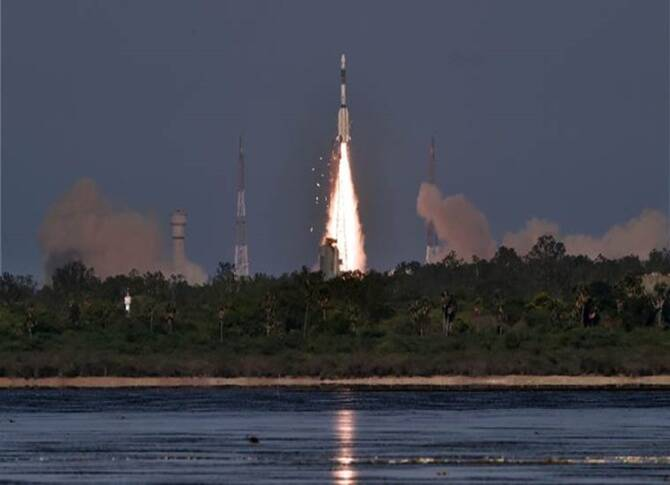 Sriharikota: Indian Space Research Organisation (ISRO) Launched PSLV C-45