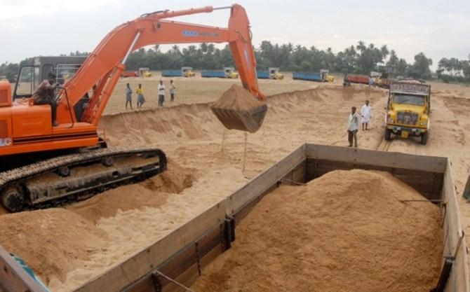 tamilnadu government, imported sand, tuticorin port,chennai high court madurai bench, tamilnadu sand quaries