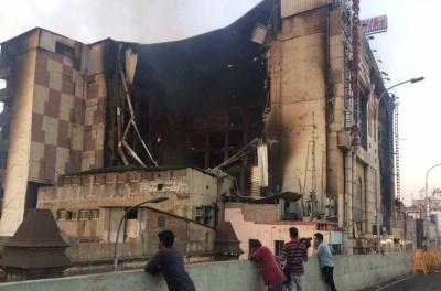 'சென்னை சில்க்ஸ்' கட்டிடம் முற்றிலும் இடிக்கப்படும்; அமைச்சர் அதிரடி