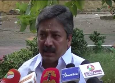 Tamil Nadu Assembly, cv sanmugam