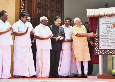 2025-க்குள் அப்துல் கலாம் கனவு கண்ட இந்தியா : மணிமண்டபம் திறப்பு விழாவில் மோடி பேச்சு