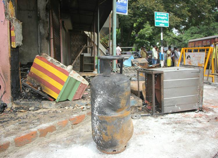fire accident, chennai
