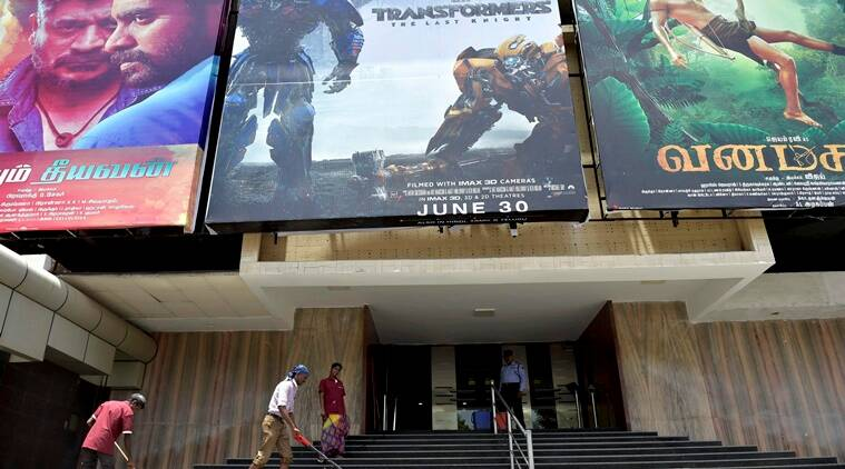 Cinema hall closed in Chennai