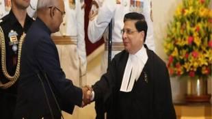 Justice Dipak Misra, President Ram Nath Kovind,