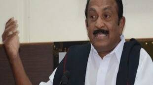 MDMK Chief Vaiko Press Meet