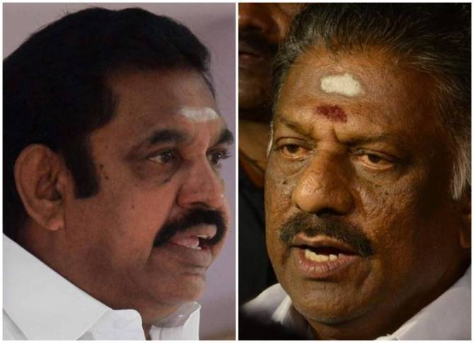 O.Panneerselvam first time separate statement in ADMK Letter Head