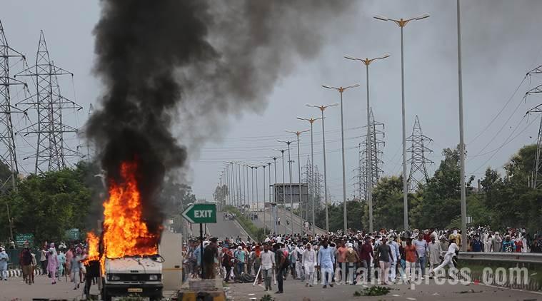 Dera Sacha Sauda, panchkula protest