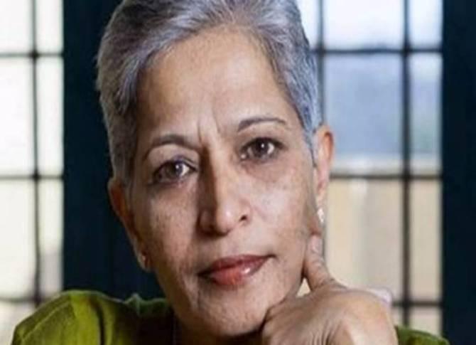 Gauri Lankesh, journalist