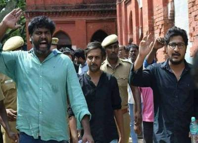 thirumurugan gandhi, goondas act, may 17 movement, chennai high court