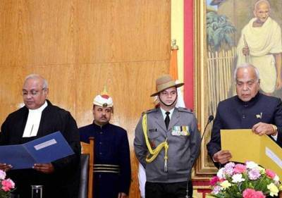 Banwarilal Purohit administered oath as Governor of Meghalaya