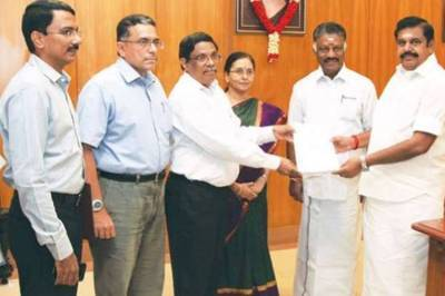 7th pay commission report to cm edappadi palaniswami, 7th pay commission, jactto-jeo, cm edappadi palaniswami