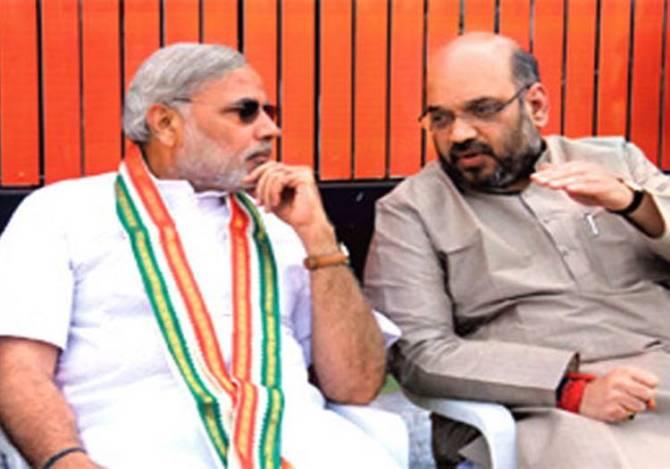 Modi - Amith Sha - Union Ministry reshuffle
