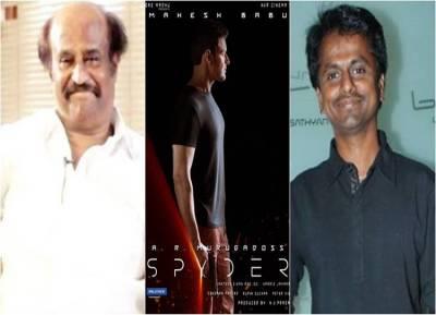 spyder movie, A.R.Murugadoss, Actor rajinikanth, actor mahesh babu, actress rakul preet singh