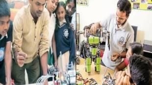 MNC Companies, Robotics, Bangaluru, IISC, under priveledged Children