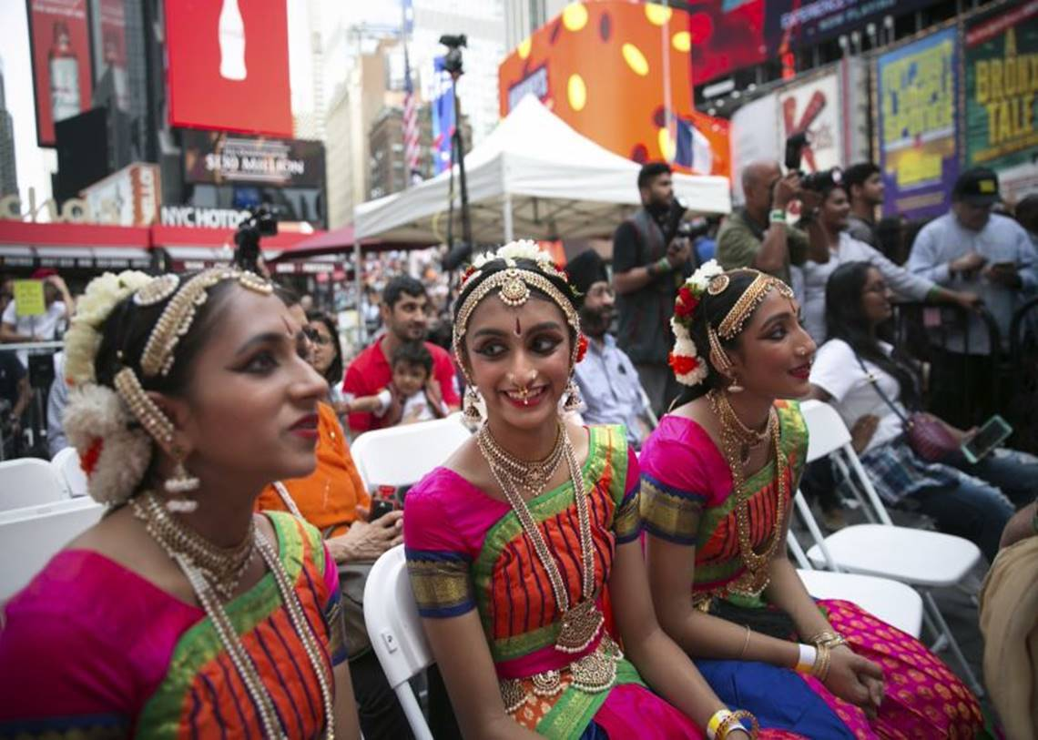, Diwali lights up New York's Times Square, Diwali, New York, Times Square,