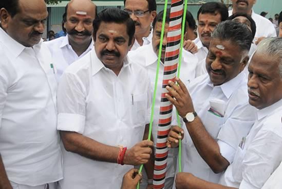 aiadmk, tamilnadu, tamilnadu government, cm edappadi palaniswami, deputy cm o.panneerselvam, aiadmk 46th anniversary, jeyalalitha,