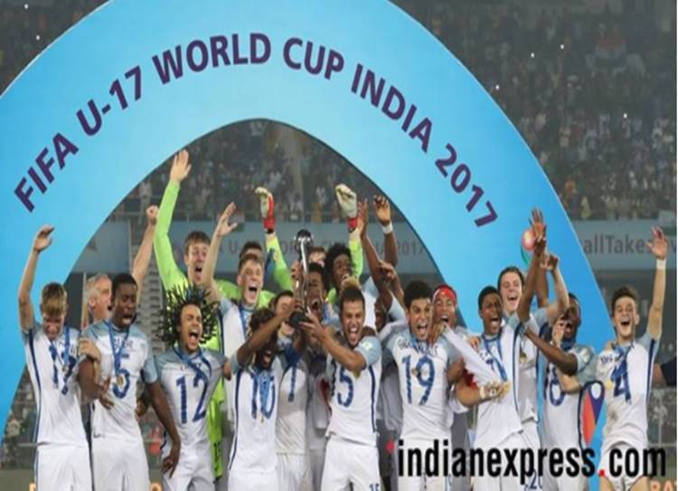 U-17 Football Worldcup, England Champion