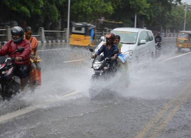 சென்னை வானிலை மையம், மழை
