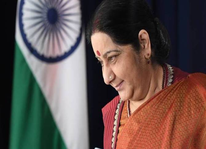 Sushma Swaraj, India, Pakistanis, medical visas, Uzair Humayun, Lahore, External Affairs Minister Sushma Swaraj,