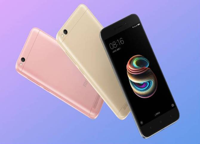 Xiaomi Redmi, Xiaomi Redmi 5A, MIUI 9, 3,000mAh battery, China, Smartphones,