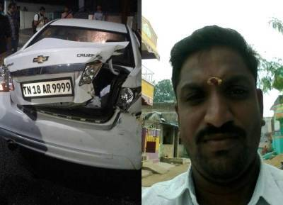 Chennai acident, Drunk and drive