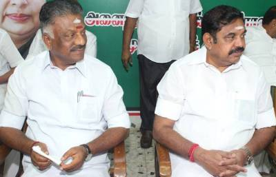 tamilnadu government, aiadmk, cm edappadi palaniswami, deputy cm o.panneerselvam, two leaves symbol, asphire swaminathan, EPS, OPS