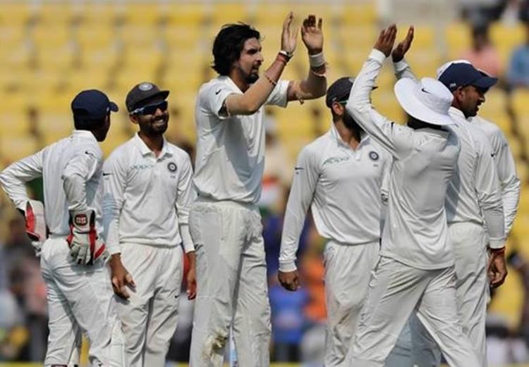 india vs srilanka cricket 2017, nagpur cricket test, indian cricket team, srilankan cricket team, ravichandran ashwin