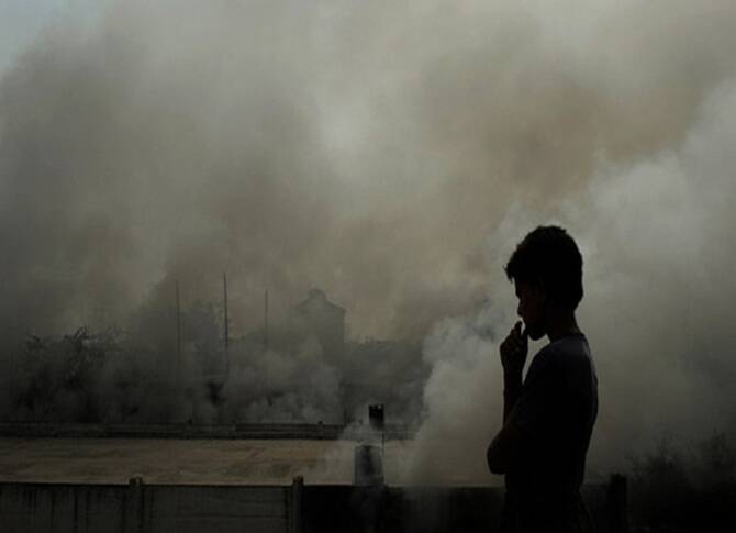 India had most deaths caused by pollution in 2017