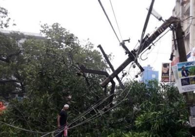 kanyakumari district, ockhi, cyclone ockhi, heavy rain, power cut, minister thangamani, minister r.b.udayakumar