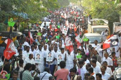 r.k.nagar campaign
