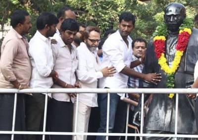 actor vishal, rk nagar, j.deepa