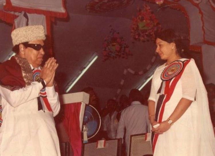 MGR Jayalalitha