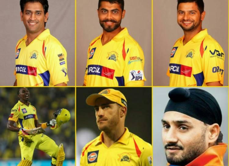IPL Auction 2018, Chennai Super Kings Team
