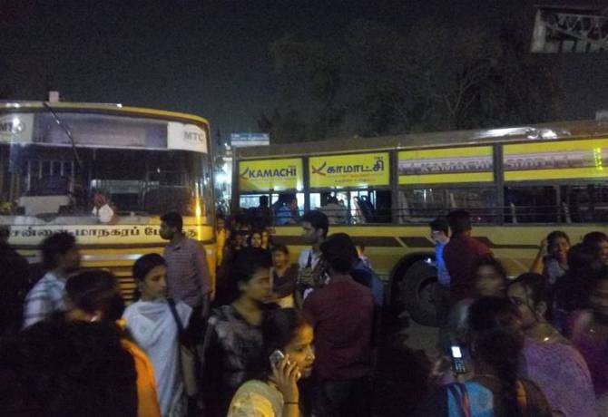 Tamilnadu, Government Transport Corporation Employees Strike