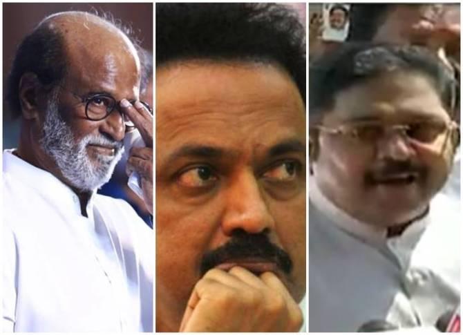 Rajinikanth, MK Stalin, TTV Dhinakaran, Spritual Politics, BJP