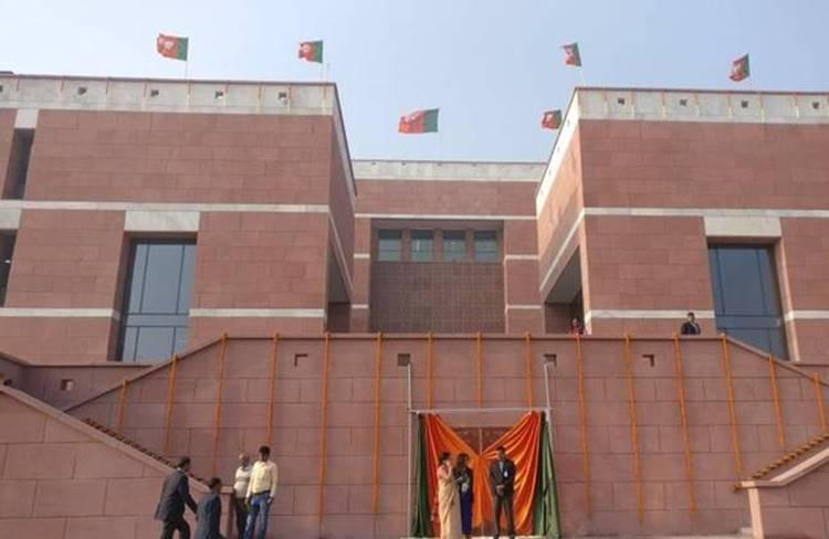 BJP Head Office, PM Narendra Modi, Amit Sha