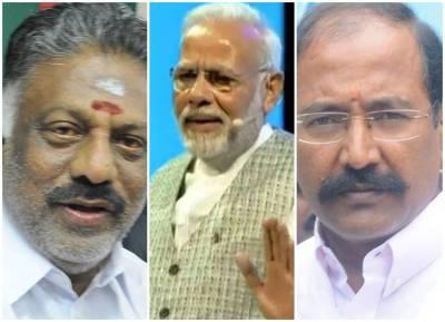 Minister Thangamani Met Modi, O.Panneerselvam, Demand for CM post