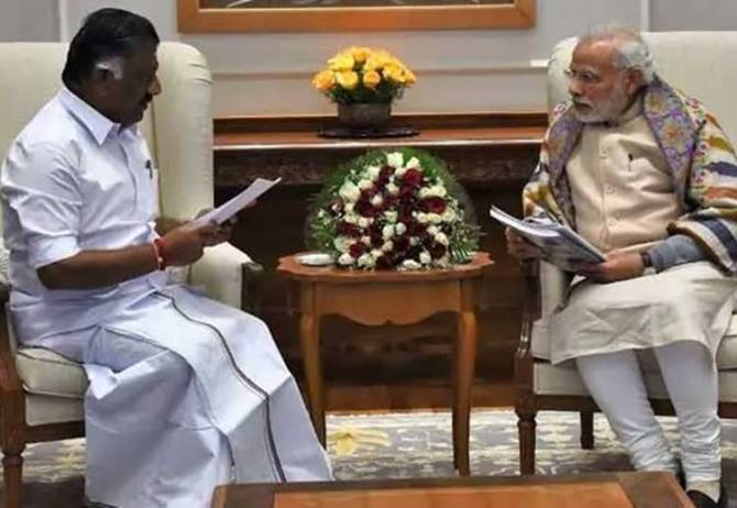 O.Panneerselvam, Theni District, PM Narendra Modi, ADMK Merger