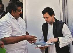 Royapuram Mano, Rahul Gandhi, Congress Functions