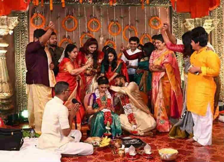 Parthiban daughter Marriage