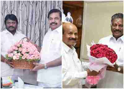 AIADMK HQ Office Bearers, Blessing, OPS, EPS