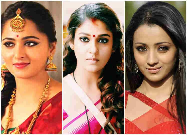 anushka - nayantara - tirisha