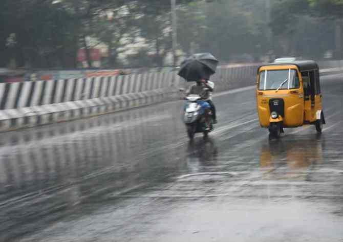 Chennai weather latest updates Heavy rain alert with thundershower