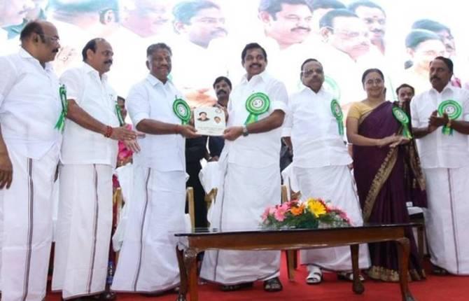 Edappadi K.Palaniswami, O.Panneerselvam, 1 Year Achievment TN