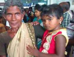 Eruvadi Students Eye Affected, School Annual Day