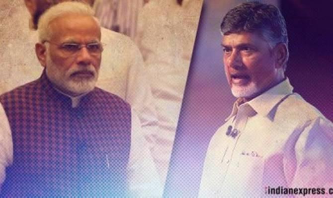 N Chandrababu Naidu, Narendra Modi, No confidence Motion