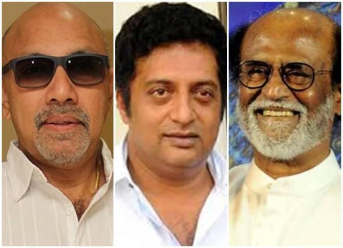 actors rajini -prakashraj - sathyaraj