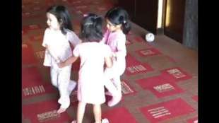 dhoni raina and harbajan daughters play