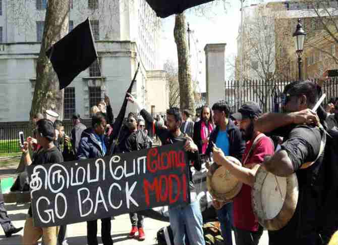 go back modi in london