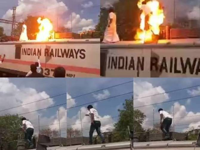 Cauvery Issue, Bandh, Rail Roko, PMK Office Bearer, Electric Shock